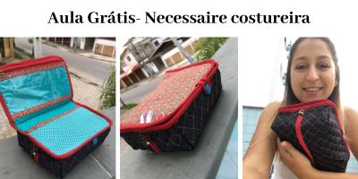 Aula grátis- Necessaire Costureira